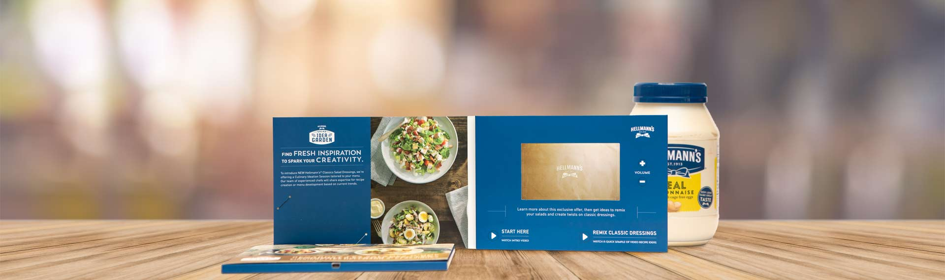 Lxbest Video Brochure Card