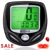 SOON GO Bike Speedometer, Bicycle Speedometer Wireless Bike Computer Waterproof Bike Odometer Speedometer Accurate Speed Tracking & Multi-Function with Cycling Taillight
