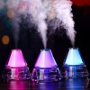 Cool Mist Humidifier Mini Iceberg Shape Humidifier 140ML Colorful Night Light USB Air Atomizer Waterless Auto Shut-off with No Noise for Home Bedroom Babyroom Office