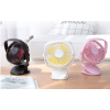 Mini Clip fan quiet desktop small fan stroller student dormitory USB charging fan