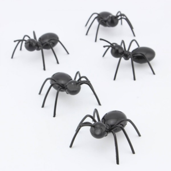3D Ants Refrigerator Magnets for Kids - Set of 8 Decorative Cute Ant Fridge Magnets as Magnetic Safe Toys for Children