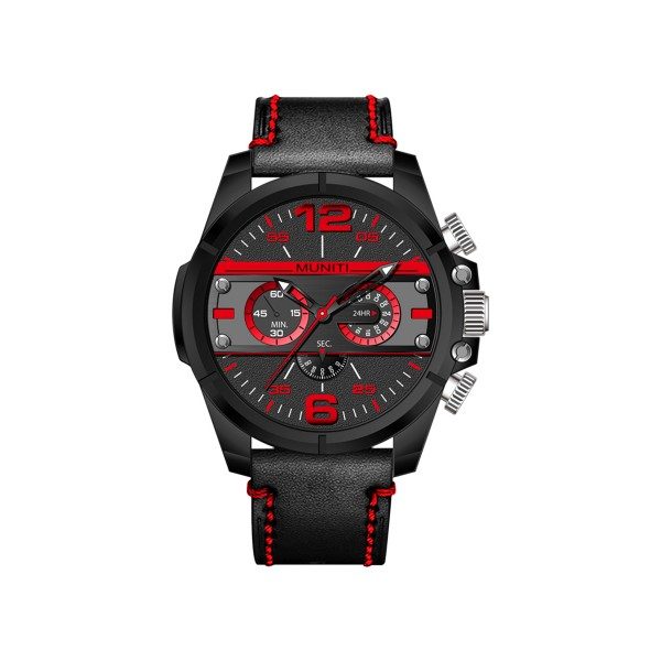 Men s Sports Watch Round Dial Personalized High Quality Watch AccessoryWrist Watches