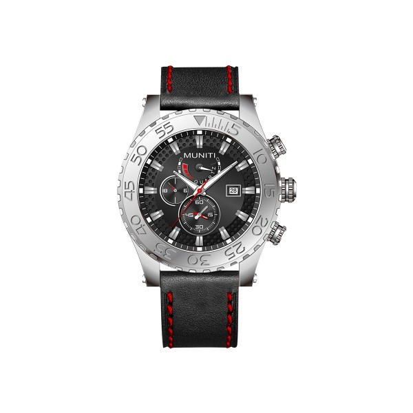 Mens Quartz Watch Sub-dials High Quality Stylish Watch