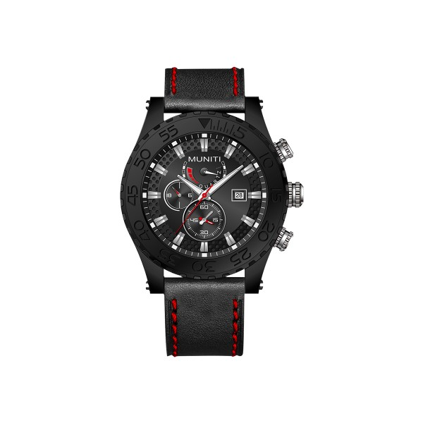 Men s Quartz Watch Sub-dials High Quality Stylish WatchWrist Watches