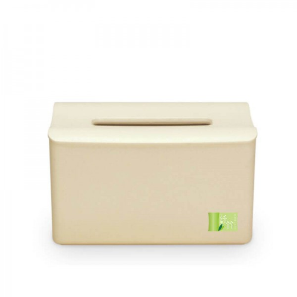 Bamboo Fiber Elevated Tissue Box Creative Lifting Tissue Box Creative environmentally Friendly Material