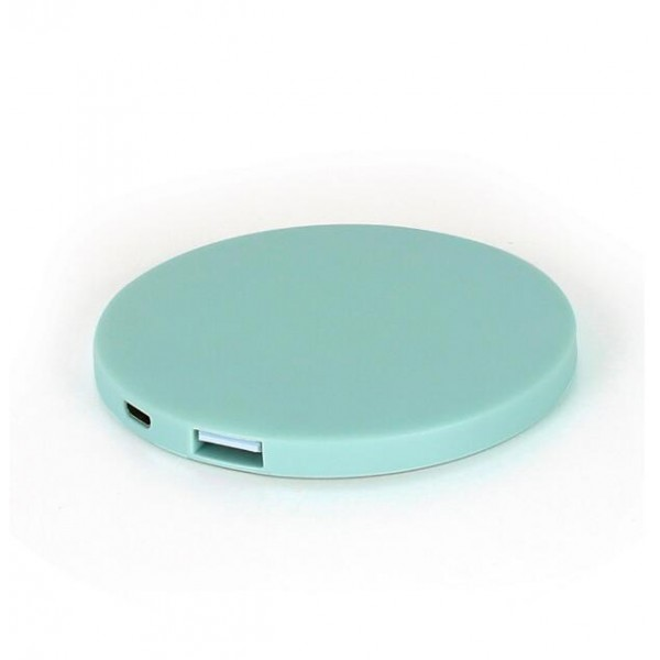 Power Bank Makeup Mirror Compact Portable Charger 2000mAh as Gift for Friends,Girls,Mom etcPower banker