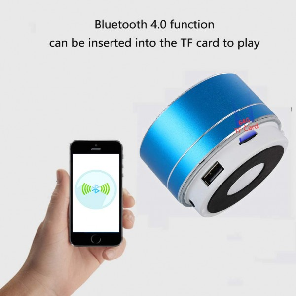 Mini Speakers Bluetooth Perfect Portable Speaker Enhanced Bass IPX5  Outdoor Wireless Subwoofer Built-in Mic 360° Surround SoundBluetooth Speaker