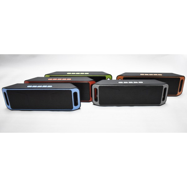 Bluetooth Speaker FM Radio Wireless for Outdoor Partying, Camping, Hiking, Biking and Indoor