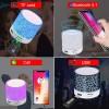 Portable Mini Bluetooth Speakers Wireless Hands Free LED Speaker TF USB FM Sound Music for iPhone X Mobile PhoneBluetooth Speaker