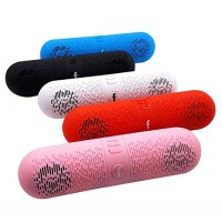 Wireless Bluetooth Speaker, Capsule Pill Shape Mini Portable Speaker Support Card Multifunction Speaker