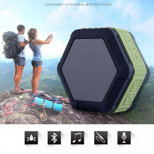 Portable Wireless Super Bass Stereo Bluetooth Speaker For SmartPhone Tablet PCBluetooth Speaker
