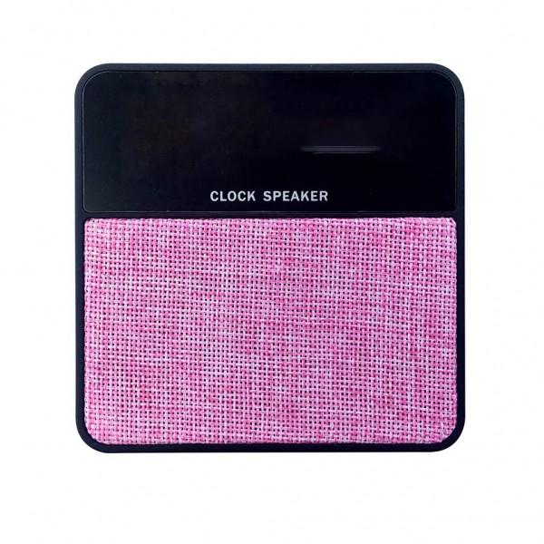 Compatible with FM TF Audio InputClock Speaker Mini T1 Fabric Alarm Clock Card Wireless Bluetooth SpeakerBluetooth Speaker