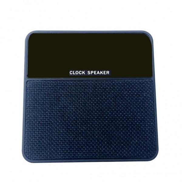 Compatible with FM TF Audio InputClock Speaker Mini T1 Fabric Alarm Clock Card Wireless Bluetooth Speaker