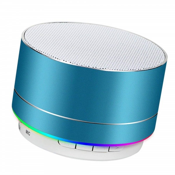 Portable Wireless Bluetooth Speaker Superb HD Sound &Bass Mini Stereo Outdoor Speaker with Built-in Mic and SD/TF Card Slot for iPhone iPad PC CellphoneBluetooth Speaker