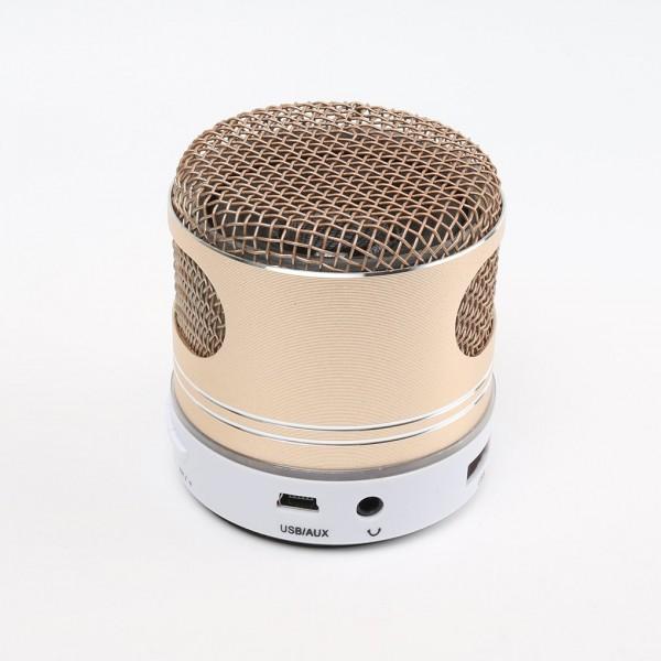 Colorful LED Lighting Wireless Bluetooth Speaker Enhanced Bass Voice Call FM Radio USB/TF Card/Audio Input