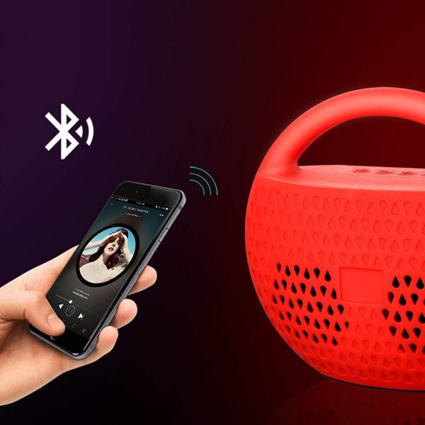 Portable Wireless Bluetooth Mini Travel Speaker FM Radio USB/TF Card/Audio Input