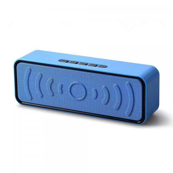 Bluetooth Speaker Wireless Private Mode Card FM Radio Portable Subwoofer Speaker TF Card Slot